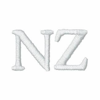 Camisa bordada patriótica del diseñador de NZ Camiseta Polo Bordada
