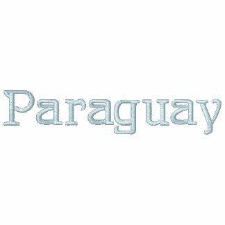 Camisa bordada patriótica del diseñador de PARAGUA Chaquetas Bordadas