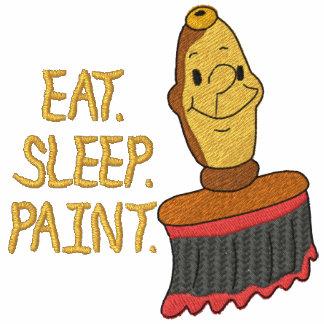 Camisa bordada pintor sudadera bordada