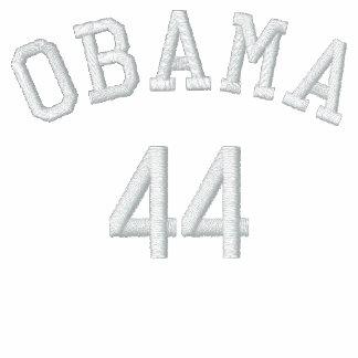 Camisa bordada polo de Obama 44