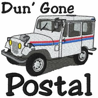 Camisa bordada postal ida Dun