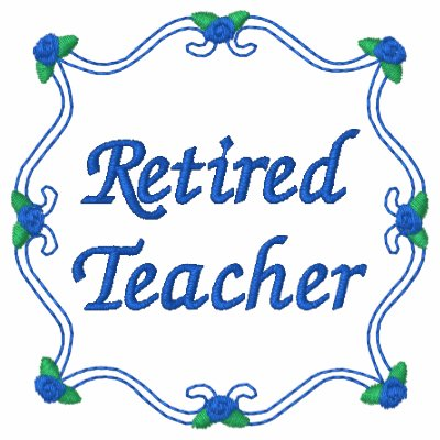 Camisa bordada profesor jubilada sudadera bordada con serigrafia