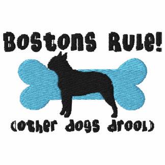 Camisa bordada regla de Bostons (camiseta)