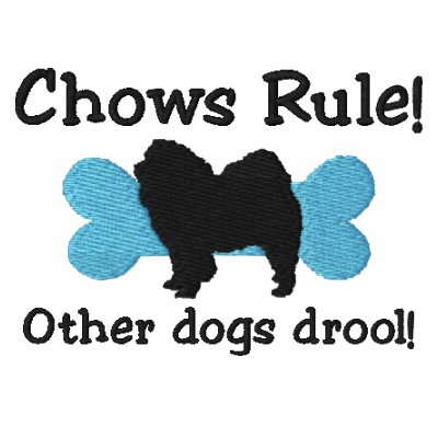 Camisa bordada regla de los perros chinos (polo)