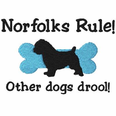 Camisa bordada regla de Norfolks (sudadera con cap