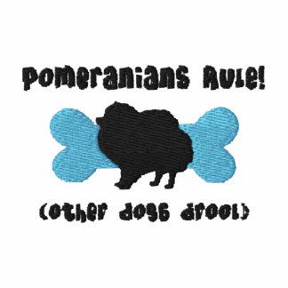 Camisa bordada regla de Pomeranians (camiseta)