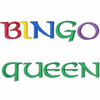 Camisa bordada reina del bingo