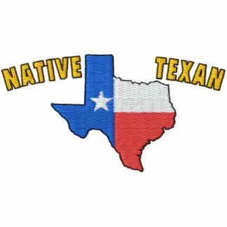 Camisa bordada Texan nativo Polo Bordado