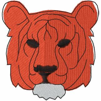 Camisa bordada tigre polo bordado