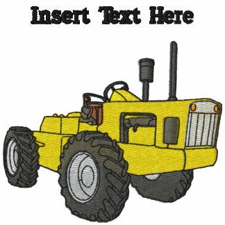 Camisa bordada tractor de encargo