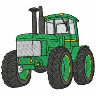 Camisa bordada tractor de encargo sudadera bordada con capucha