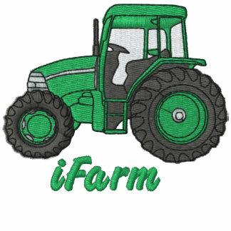 camisa bordada tractor del iFarm
