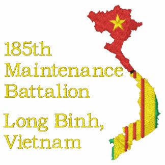 Camisa bordada unidad del mapa de Vietnam