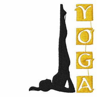 Camisa bordada yoga