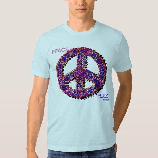 Camisa borrosa de la paz