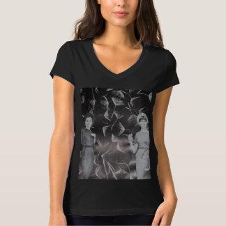 Camisa botánica del collage de los sueños todos