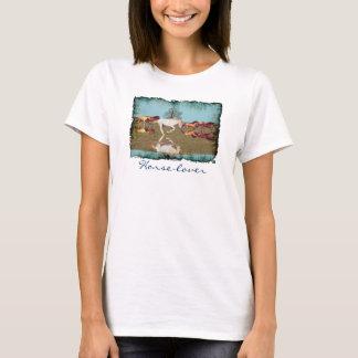 Camisa Cantering de la libertad del Caballo-Amante