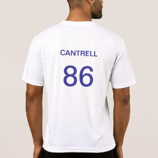 Camisa Cantrell del jugador del EL Toros