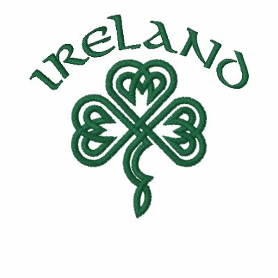 Camisa céltica del trébol de Irlanda Camiseta Polo