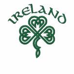 Camisa céltica del trébol de Irlanda Polo