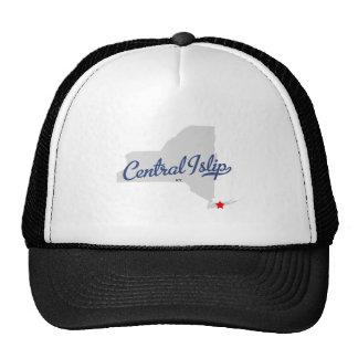 Camisa central del Islip Nueva York NY Gorro De Camionero