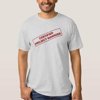 Camisa certificada del gestor de proyecto