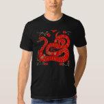 Camisa china de la astrología de la serpiente