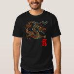 Camisa china del dragón