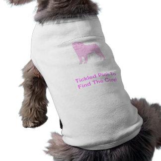Camisa china del perrito del barro amasado camisetas de mascota