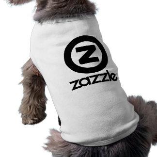 Camisa clásica del mascota playera sin mangas para perro