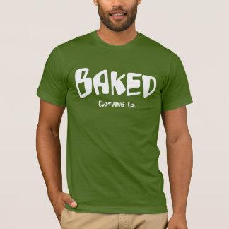 Camisa cocida del verde de la deshuesadora de