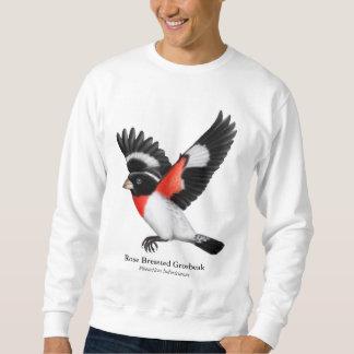 Camisa color de rosa del pájaro de Breasted en