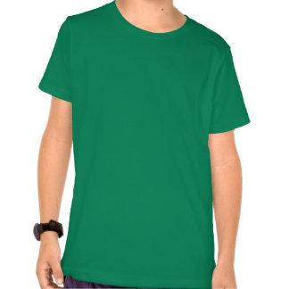 Camisa coloreada de los niños con el logotipo de 2