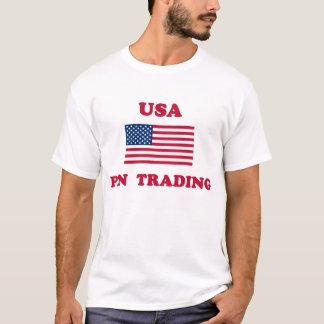Camisa comercial del Pin de los E.E.U.U.