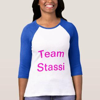Camisa cómoda del béisbol de la manga de Stassi