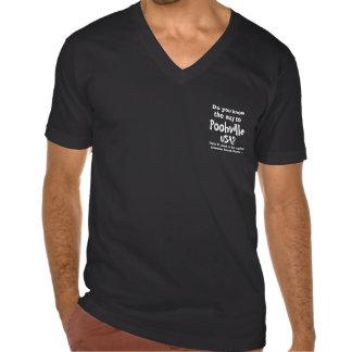 Camisa con cuello de pico oficial para Poohville,