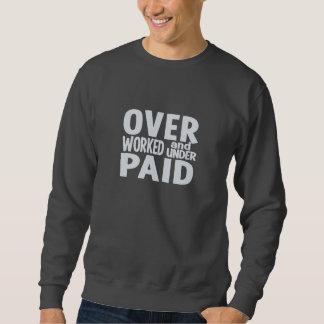 Camisa con exceso de trabajo - elija el estilo y