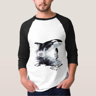 Camisa con mangas de la INFRACCIÓN 3/4 de la ORCA