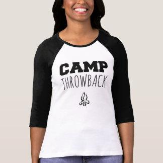 Camisa con mangas de las mujeres del logotipo de