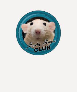 Camisa con mangas del raglán del club del ratón de