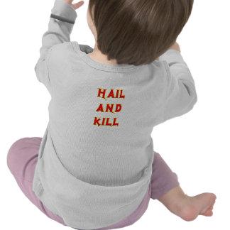 Camisa con mangas larga del bebé de CMS
