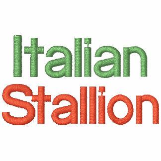Camisa con mangas larga del chocolate italiano del