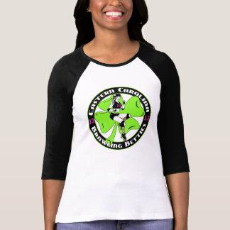 Camisa con mangas para mujer de ECBB mediados de