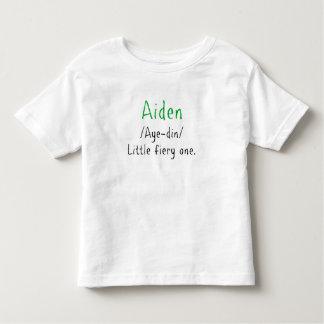 Camisa conocida de la definición de Aiden