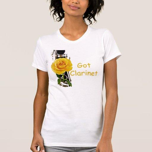 Camisa conseguida del Clarinet del Clarinet