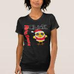 Camisa coqueta del polluelo de Santa