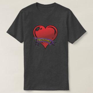 camisa coração T-Shirt
