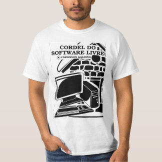 Camisa Cordel do Software Livre T-Shirt