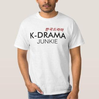 Camisa coreana del drogadicto del drama