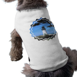 Camisa costera del mascota del faro ropa perro